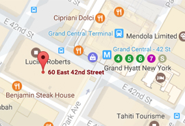 Mediation Works NYC Manhattan Office Map